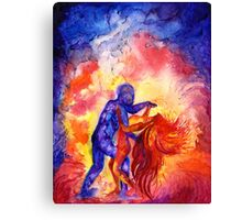 Passion on the dance floor Canvas Print