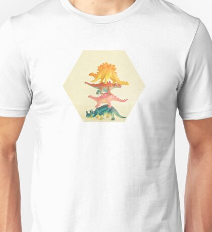 Dinosaur Antics Unisex T-Shirt