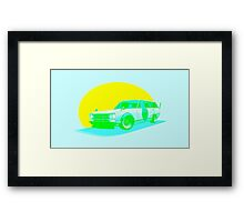 Shakotan Wagon (Gone Fishing) Framed Print