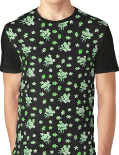 Green flowers Graphic T-Shirt