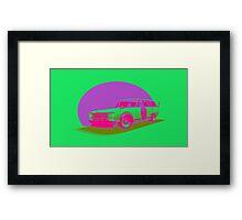 Shakotan Wagon (Miami) Framed Print