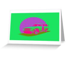 Shakotan Wagon (Miami) Greeting Card