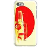 Shakotan Wagon (Red Sun) iPhone Case/Skin
