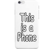 This is a Phone iPhone Case/Skin