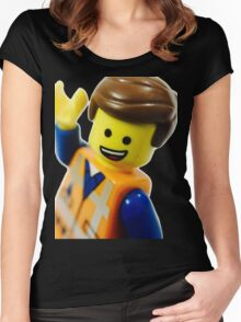 Keep on Smiling! Women's Fitted Scoop T-Shirt