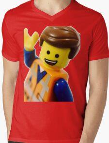 Keep on Smiling! Mens V-Neck T-Shirt