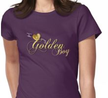 I Love my Golden Boy Womens Fitted T-Shirt