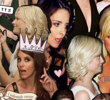 tinamy collage Sticker