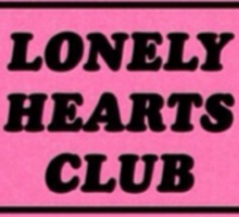 Lonely Hearts Club  Sticker
