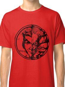Harvey Dent/Two-Face Illustration Classic T-Shirt
