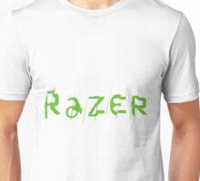 Razer Logo   Text Unisex T-Shirt