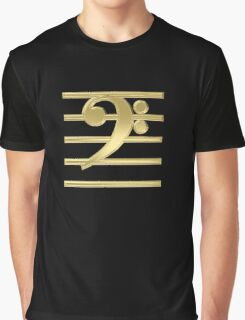 Bass clef Graphic T-Shirt