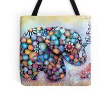 Little Sunshine the Patchwork Elephant Tote Bag