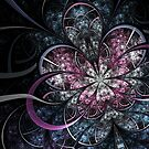 Butterfly Effect - Abstract Fractal Artwork by EliVokounova