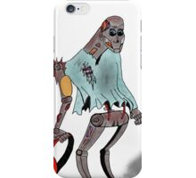 Rusty the mechanical happy go lucky robot iPhone Case/Skin