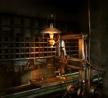 Machinist - At the millers  by Mike  Savad
