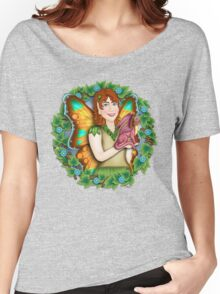 A Fairy and Her Dragon Women's Relaxed Fit T-Shirt