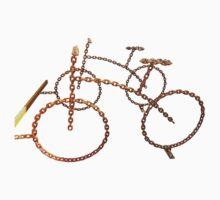 bike chain One Piece - Short Sleeve