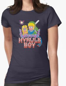 Hyrule Boy Womens Fitted T-Shirt