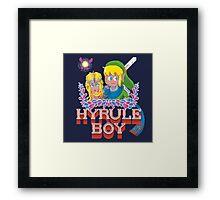 Hyrule Boy Framed Print