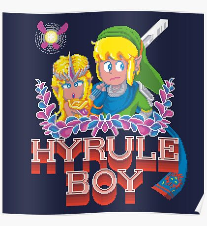 Hyrule Boy Poster