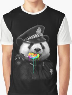 LOLLYPOP COP Graphic T-Shirt