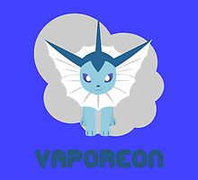 VAPOREON by WillOrcas