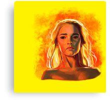 Daenerys Canvas Print