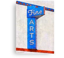 Fine Arts  Canvas Print