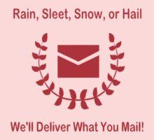 Post Office Halo Baby Tee