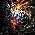 Ascension - Abstract Fractal Artwork by EliVokounova