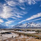 Road to Mt Cook by Linda Cutche