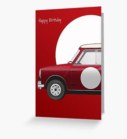 Mini Cooper 'S' Works (1964) Greeting Card