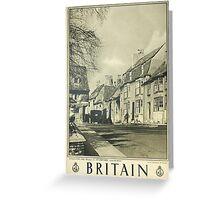 Britain Greeting Card