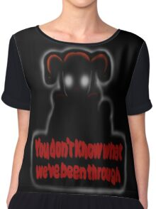 FNAF Sister Location Baby You don't know what we've been through Chiffon Top
