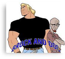 Brock & Doc Canvas Print