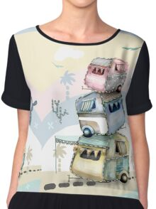 Shangri-la Women's Chiffon Top