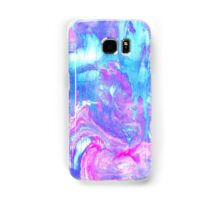 Melting Marble in Pink & Turquoise Samsung Galaxy Case/Skin