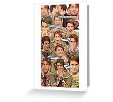 Stefon collage Greeting Card