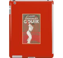 Sandales Gouik iPad Case/Skin