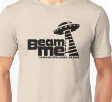 Beam me up V.3.2 (black) Unisex T-Shirt