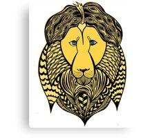 Leo astrological sign. Hand drawn illustration. Canvas Print