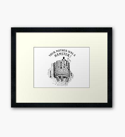 Hamster! Framed Print
