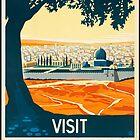 Visit Palestine by Vintagee