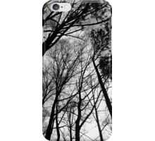 Cloudy sky at dusk iPhone Case/Skin