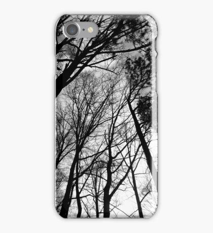 Cloudy sky at dusk iPhone Case/Skin