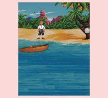MONKEY ISLAND BEACH One Piece - Long Sleeve
