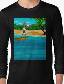 MONKEY ISLAND BEACH Long Sleeve T-Shirt