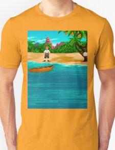 MONKEY ISLAND BEACH Unisex T-Shirt