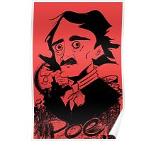 Poe(Red) Poster
